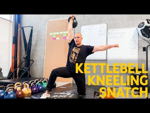 Kettlebell Kneeling Snatch