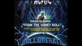 """AC/DC - Sessões do Gravação do """"Ballbreaker"""" - """"Funk The Honey Roll"""" (1995)"""