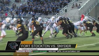 Fort Stockton and Snyder