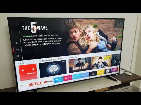 "Samsung Affordable 4K 55"" UHD Smart TV - NU6100"