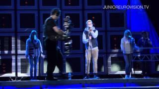 Эрик Рапп, Erik Rapp - Faller (Sweden) - 1st rehearsal Junior Eurovision Song Contest 2011 Yerevan