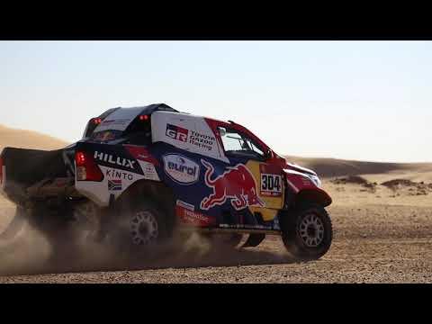 【ダカールラリー ToyotaGazooRacingチームのハイライト動画】ステージ7ハイライト