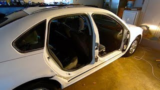 Rebuilding the Copart 2010 Salvage Impala + State Inspection