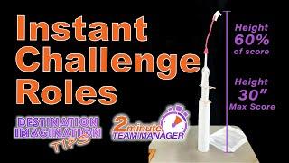 Instant Challenge Roles