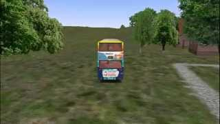 preview picture of video 'OMSI BUS SIMULATOR FUNNY BUGS'