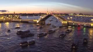 Разводные мосты в питере на карте