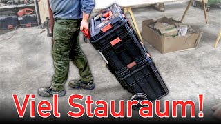 Immer alles dabei! In diesem Werkzeug Koffer kann VIEL transportiert werden!