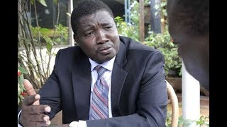 Ex-KVDA MD David Kimosop being grilled at the DCI headquaters