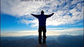 Awaken by Yes w lyrics