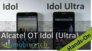 Günstiges Gespann: Alcatel One Touch Idol + Idol Ultra