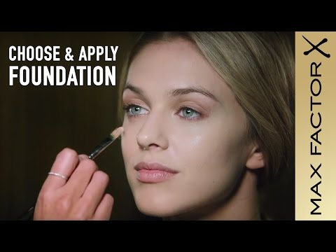 How to Choose and Apply Foundation and Concealer: Max Factor Foundation Tutorial