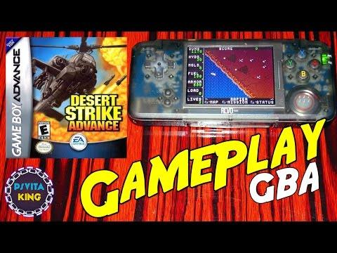 Desert Strike Advance GBA/Revo K101+/GameBoy Advance GamePlay [4K]