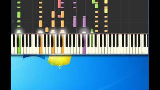 Chris Deburgh   blonde hair blue jeans [Piano tutorial by Synthesia]
