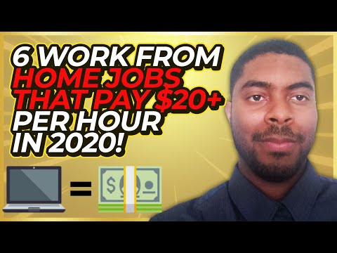 6 Work From Home Jobs With No Experience Needed! (In 2020/2021)