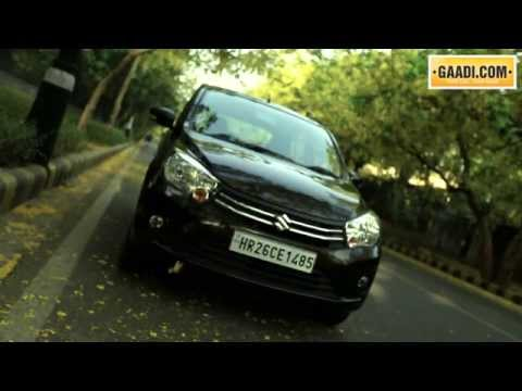 Test Drive of Maruti Suzuki Celerio in India