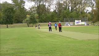 NYCL Girls 2018 In St. Louis - Batting Against Mens Invitational Team