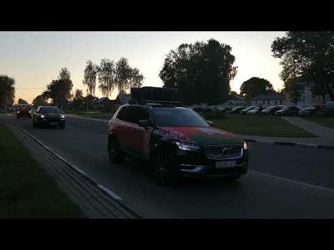 Сегодня Кричев принял участников республиканского автопробега «Символ единства»