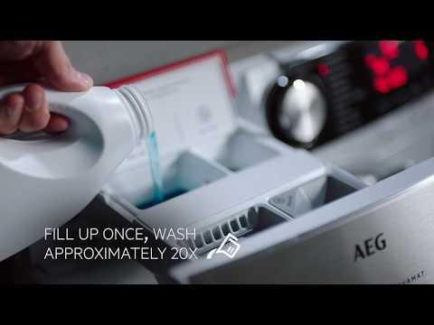 AEG Freestanding Washing Machine L6FBG841CA - White Video 2
