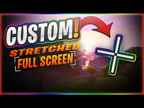 HOW TO GET A CUSTOM CROSSHAIR ON FORTNITE!! - LeaN SenSe
