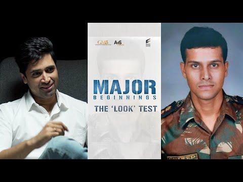 #MajorBeginnings | Adivi Sesh talks about playing Major Sandeep Unnikrishnan in #MajorTheFilm
