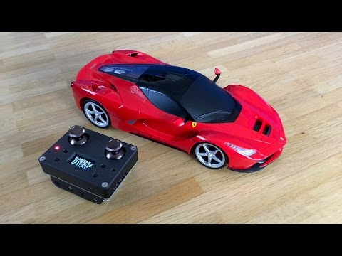 LaFerrari – Unboxing, Review and Arduino 2.4GHz RC Conversion!