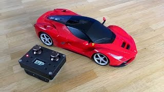LaFerrari - Unboxing, Review and Arduino 2.4GHz RC Conversion!