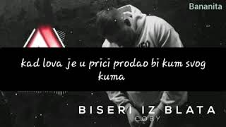 Coby   Biseri Iz Blata (instrumental+tekst)