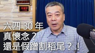 '19.06.04【觀點│小董真心話】六四30年,真懷念?還是假蹭割稻尾?!
