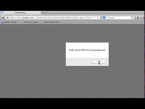 Gmail and Google+ - tale of two XSS-es | MB blog