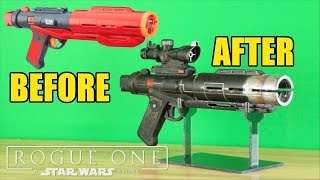 Star Wars: Rogue One- Nerf Death Trooper Blaster Makeover- Chris' Custom Collectables!