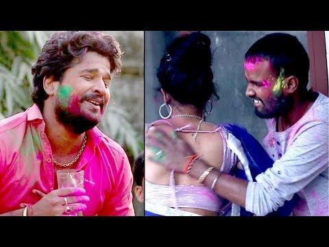 Ritesh Pandey ने सबका होली गाना फेल कर दिया 2018 - फार देम चोली पछिम टोली में - Bhojpuri Holi Songs