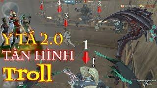 Bình Luận CF [Thử Thách Bựa] #32: Sử Dụng Y Tá 2.0 Tàn Hình Troll Chiến Binh