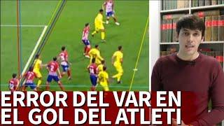 """Nacho Tellado: """"Hay Un Error Del VAR Al Tirar La Línea En El Gol De Godín""""   Diario As"""