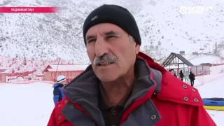 Единственный в Таджикистане горнолыжный комплекс открыл зимний сезон
