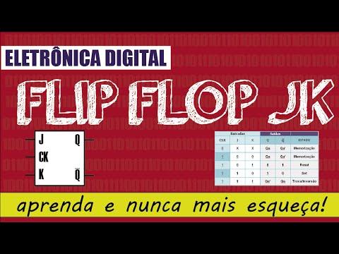 Eletrônica Digital 2: #12 Latch / Flip Flop JK - aprenda e nunca mais esqueça