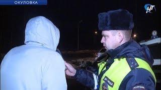 150 нетрезвых водителей были задержаны в период новогодних праздников в Новгородской области