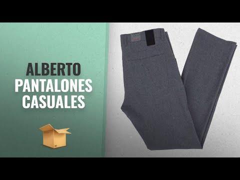 Productos 2018, Los 10 Mejores Alberto: Alberto Stone Ceramica Modern Fit 5-Pocket Pants