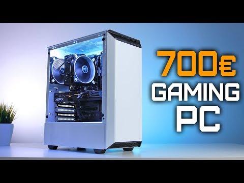 700 Euro GAMING PC 2019 - Der SCHNELLSTE PC den DU kaufen kannst! Zusammenbau & Test