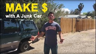 How to Make Money Buying a Junk Car