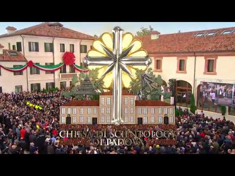 Саентология в Италии - официальная церемония открытия центра в Падуе