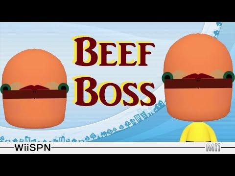 Mii Maker: How To Create Beef Boss!