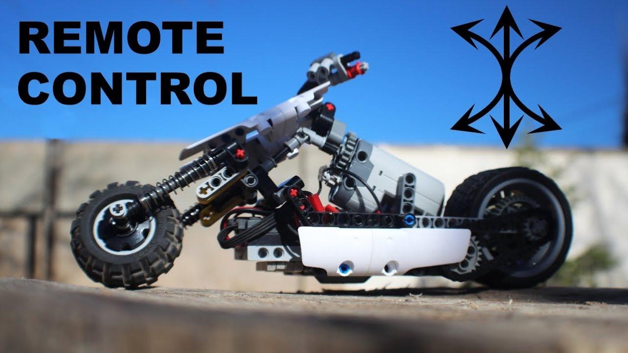 R/C Drift-MotorCycle Lego Technic MOC