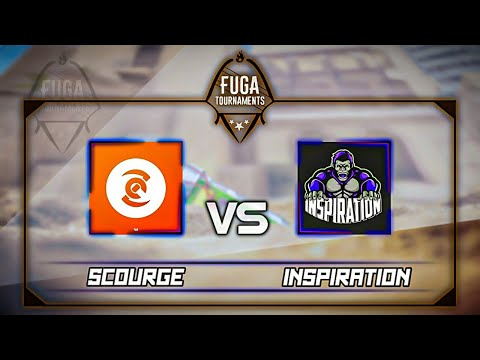 InspiratioN &  Scourge. 1/16 тура. 8 сезон Fuga Tournament/Pro League/ Standoff2