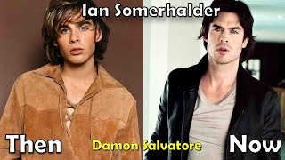The Vampire Diaries Before and After 2017