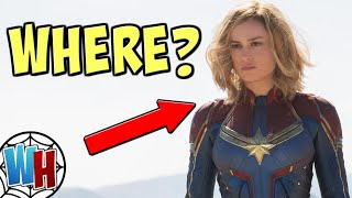 Where EXACTLY is CAPTAIN MARVEL in Avengers 4?