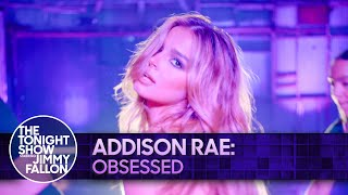 Addison Rae: Obsessed | The Tonight Show Starring Jimmy Fallon