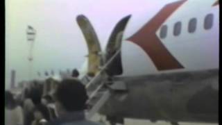 preview picture of video 'ヨーロッパ研修 ウイーン 18 ウィーン空港 DC-9 Vienna International Airport 1985'