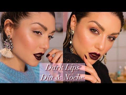 Dark Lips para día y noche (dos tutoriales completos)   Dirty Closet   AD