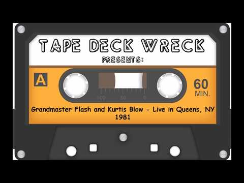 Grandmaster Flash and Kurtis Blow – Live in Queens NY 1981