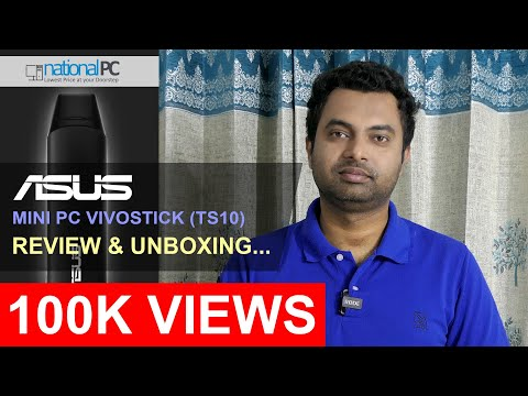 ASUS Mini PC VivoStick TS10 - Review and Unboxing